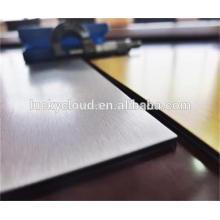 Miroir fini panneau composite en aluminium