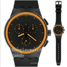 Reloj deportivo multifuncional de calidad con reloj deportivo de silicona para hombres (HL-CD051)