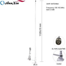 Antena marina de la nave del barco de 156-163MHz 3.5dBi Vhf con el cable 7M de RG58