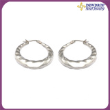Fashion Silver Plated Sterling Big Party Earrings