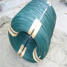 Alambre de hierro galvanizado verde del electrodo del PVC