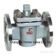 Válvula de enchufe de tipo con manguito de acero ANSI
