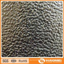 Konkav-konvex / halbkugelförmig / klassisch orange PEE / flach-oben Kiesel / gewölbt / gewebt geprägtes Aluminium