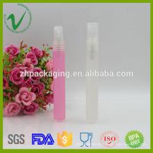 PP perfume embalaje vacío ronda botella de spray de plástico de 10 ml