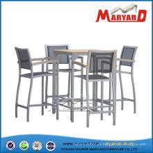 Muebles de bar al aire libre Set de mesa y sillas