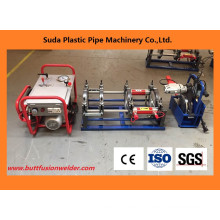 Máquina de soldadura da extremidade da tubulação do HDPE da máquina da fusão da extremidade de 50-200mm