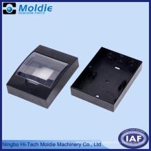 Boîte électrique ABS noir avec couvercle réglable