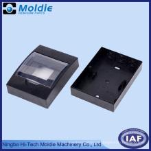 Черный ABS электрической коробки с регулируемым крышкой