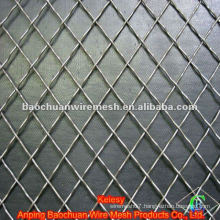 Silver crimped wire mesh with high quality and competitive price in store