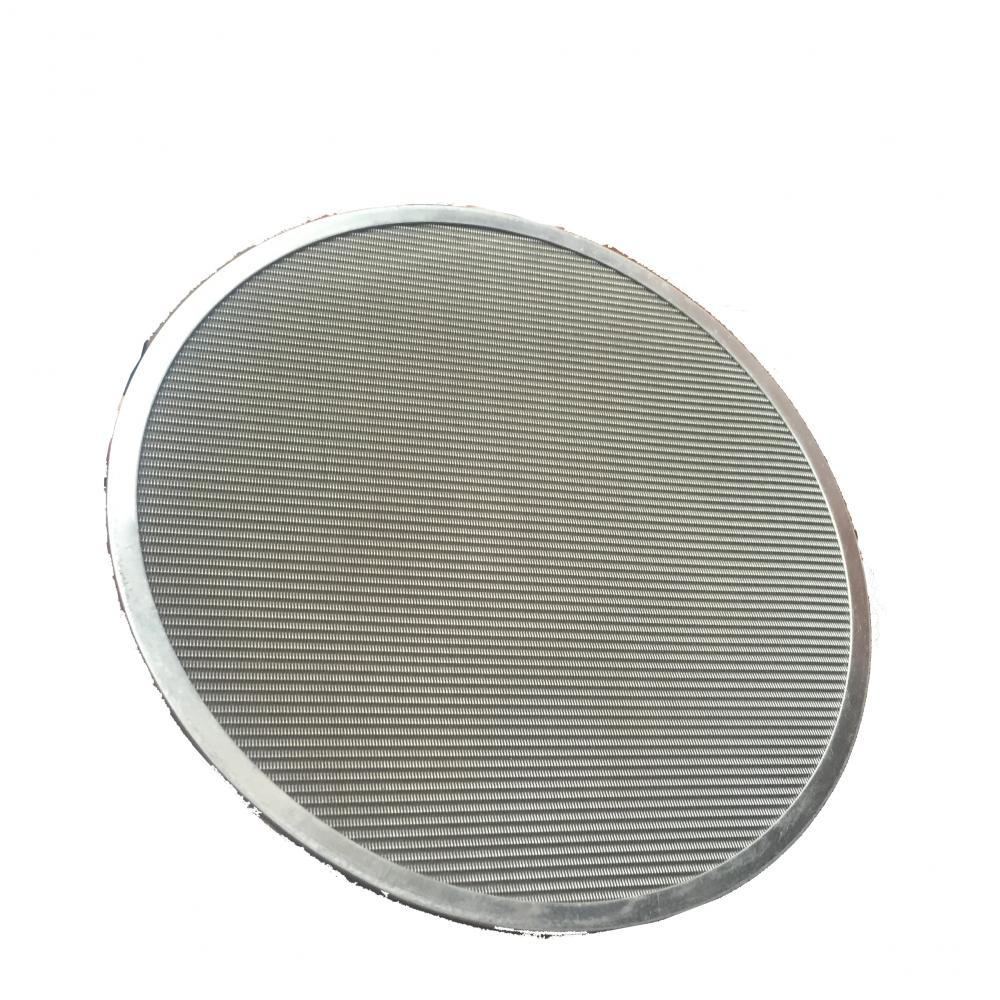 seamless cover frame stainless steel filter disc