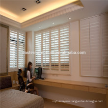 pvc plantation shutter with 63mm,89mm,114mm louver size