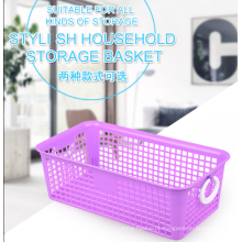 cestas plásticas da cozinha do armazenamento do agregado familiar pequeno para a venda