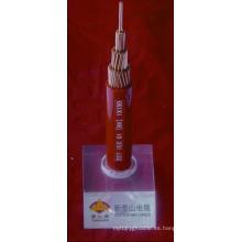 Cable aislado del PVC Voltaje clasificado hasta 450 / 750V