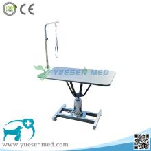 Unité de toilettage vétérinaire en acier inoxydable de la clinique médicale vétérinaire 304