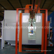 Powder Coating Line with Powder Coating Room