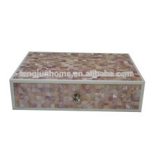 CPN-AB Boite d'accueil décorative Pink Shell pour fournitures hôtelières