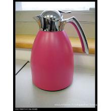 Solidware en acier inoxydable aspirateur cafe pot / bouilloire avec verre recharge