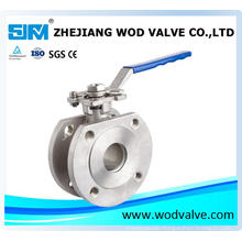 1 PC Flange Wafer Type Ball Valve Pn16/Pn40