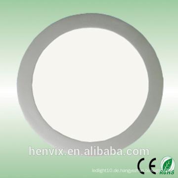 110v / 220v 10w kreative LED-Panel Licht rund