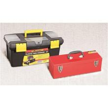 Outils à main en métal outils de matériel d'OEM de boîte à outils de plateaux simples