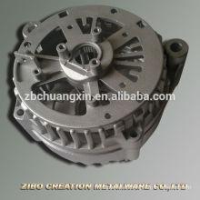 Carcasa de generador a380 adc12 pieza de fundición de aluminio