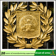 Gold Plated 3D Metal Emblem