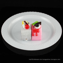 "9 ""Plate Plastic Plate Einweg-Tablett Tableare"
