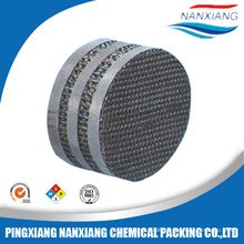 corrugated perforated metal packing
