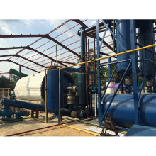 Continuous Waste Rubber Recycling Plant To Oil for sale
