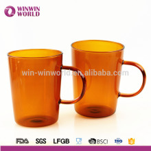 Hot New Product 2018 Unique Durable Borosilicate Colored Glass