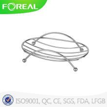 Soporte de jabón de alambre de metal de alta calidad