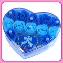 fleur artificielle de savon fleur rose Saint Valentin cadeaux