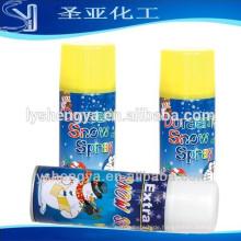 250ml Weihnachten gefälschte weiße MSDS Schneespray in China Hersteller gemacht