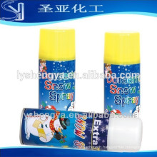 250ml Christmas fake white MSDS snow spray made in China manufacturer