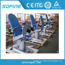 Allgemeine medizinische Ausrüstung Gynäkologische Prüfung Stuhl