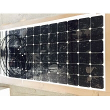 220W 37V Sunpower Cell Semi Flexible Solar Panel Solar Module