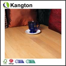 Revestimento de madeira projetado da cor natural do bordo (revestimento de madeira projetado)