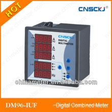 DM96-IUF 96*96 digital combintation meter