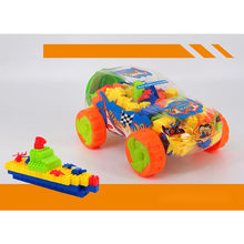 Promotion Gift Educational Toys Car Jar Building Blocks