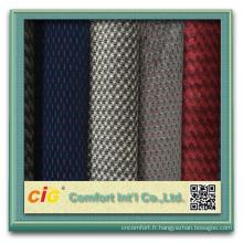 220g/m2 x 140 cm Polyester Auto sellerie tissu Auto siège tissu tricoté