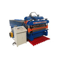 Single Layer CNC Color Steel Forming Machine/corrugated iron sheet and ibr making machine