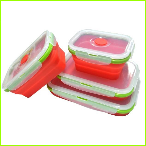 100% Food Grade Silicone Lunch Bowl