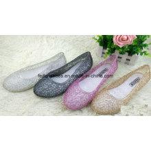 Lady dernières sandales de gelée de cristal de haute qualité (FF614-1)