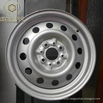 """chinese 16"""" steel wheel passenger cars rims with best service"""