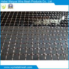 Aço inoxidável / malha de arame de tela frisada galvanizada