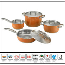 8PCS Color Cookware Set