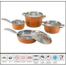 8PCS Color Cookware Set