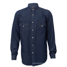 High Quality Fashion Cotton Mens Jeans Shirt