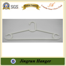 Walmart Clothes Hanger Popular White Plastic Hanger for Dress