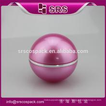 SRS échantillon gratuit 100ml plastique acrylique luxe cosmétiques crème vide jar